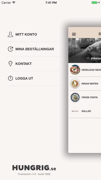 Bestia Restaurang Screenshot