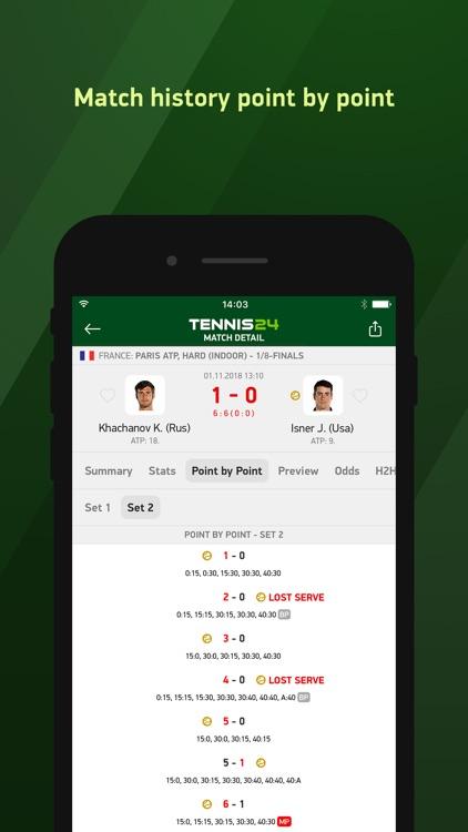 Tennis 24 - tennis live scores