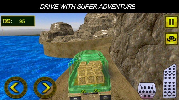 Offroad Army Truck Driver - US Military Commandos screenshot-3