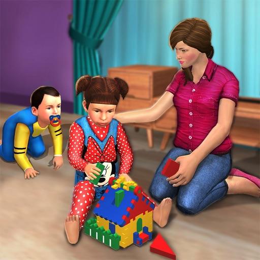 виртуальный мама семья сим
