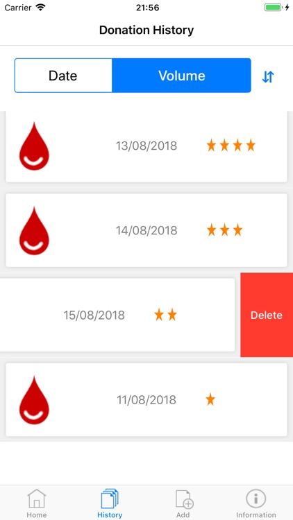Blood Donor Diary screenshot-5