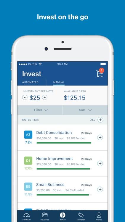 LendingClub Invest screenshot-3