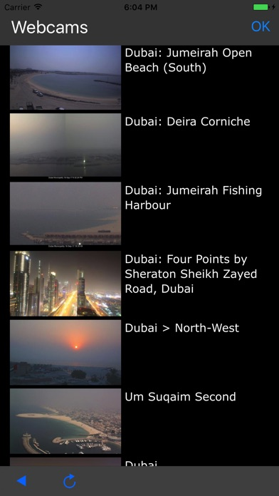 Weather Webcams review screenshots