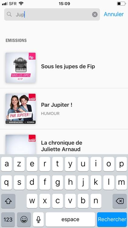 Radio France - direct/réécoute screenshot-9