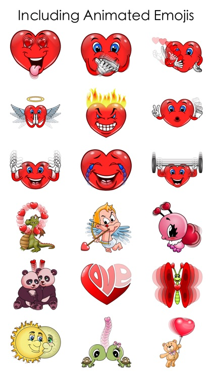 Love Emoji Keyboard screenshot-3