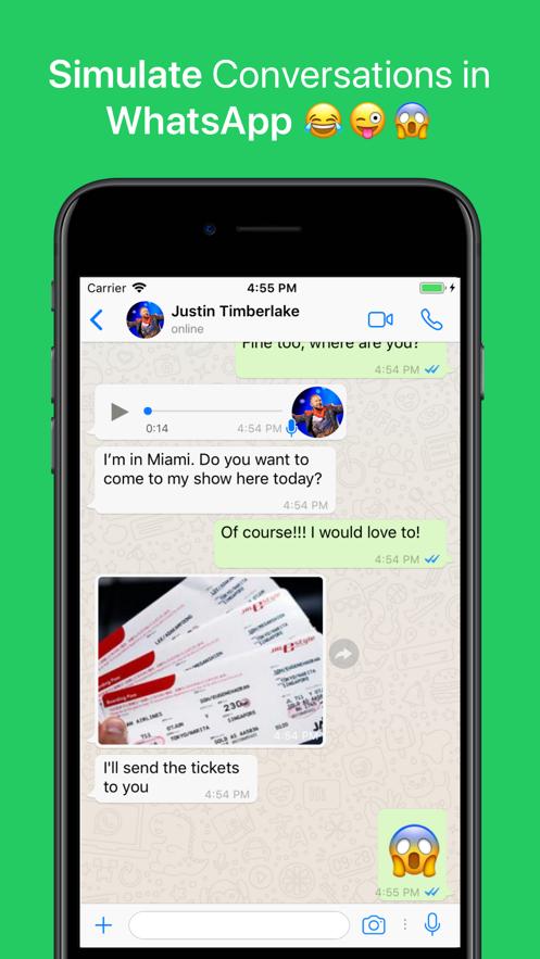 WhatsFake Pro Create Fake Chat】应用信息- iOS App基本信息