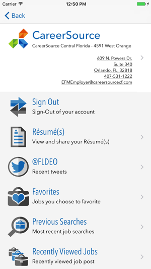 Employ Florida Mobile on the App Store