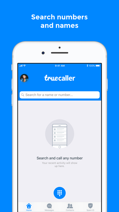Truecaller review screenshots
