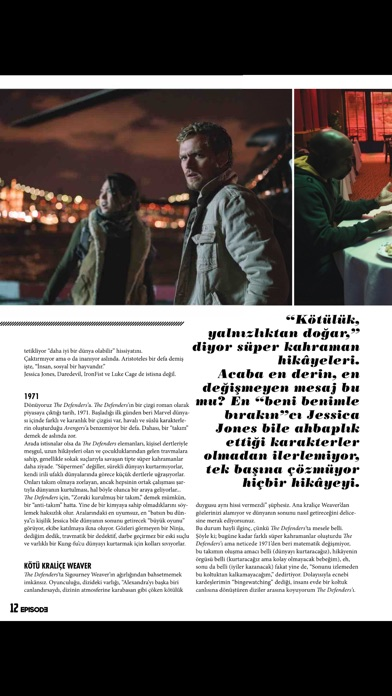EPISODE Magazine screenshot 4