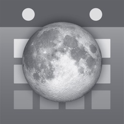 Simple Moon Phase Calendar