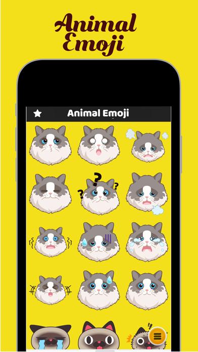 Animal Emoji - Face Expression screenshot two