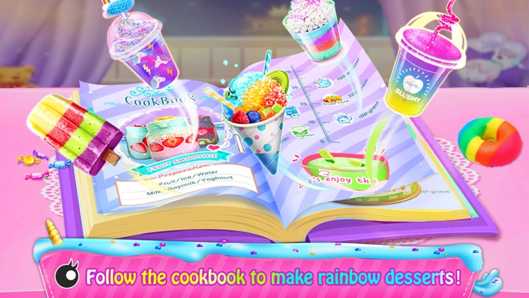 Rainbow Unicorn Cook Book