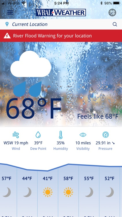 WRAL Weather screenshot-0