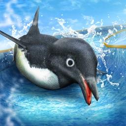 Penguin Waterslide Dash 2018