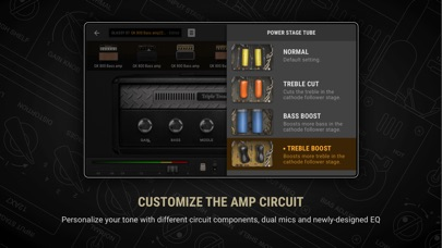 BIAS AMP 2 - for iPhone Screenshots