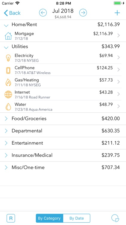 HomeBudget Lite (w/ Sync) screenshot-1