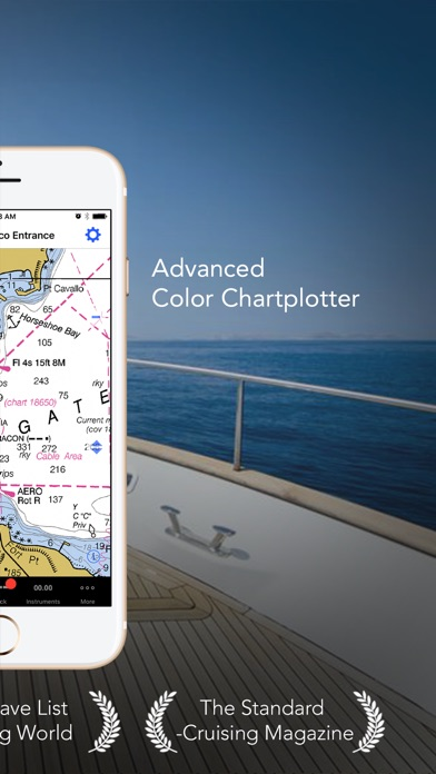 iNavX - Marine Chartplotter screenshot one
