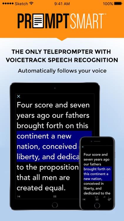 PromptSmart Lite Teleprompter