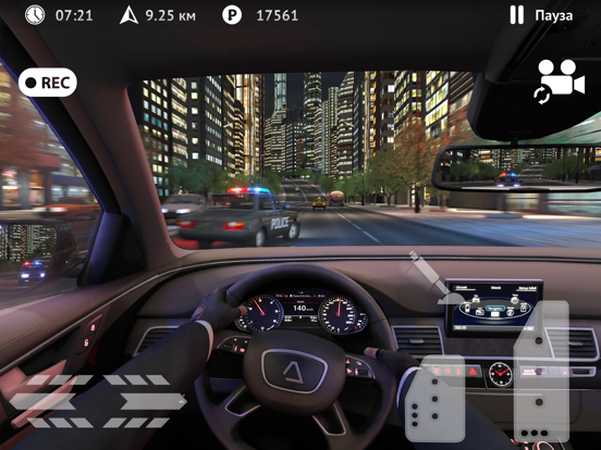 Driving Zone 2 Lite на iPad