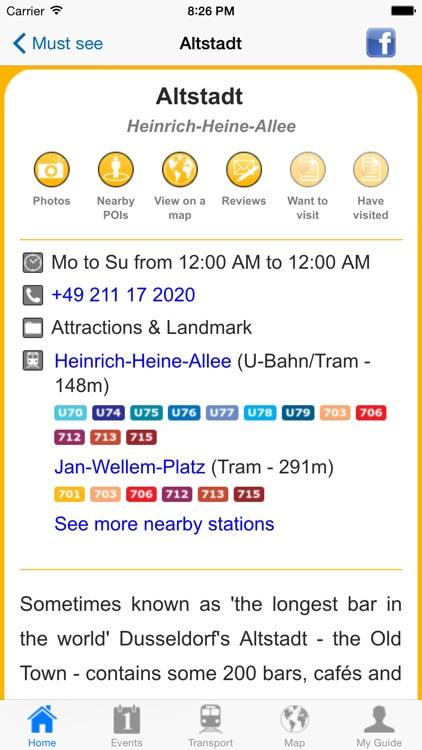 Dusseldorf Travel Guide Offline screenshot-4