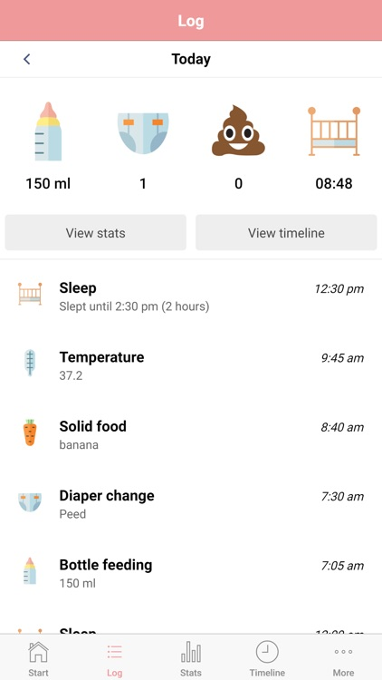 Baby Activity Tracker screenshot-1