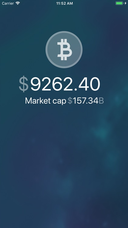 Bitcoin Price Clock