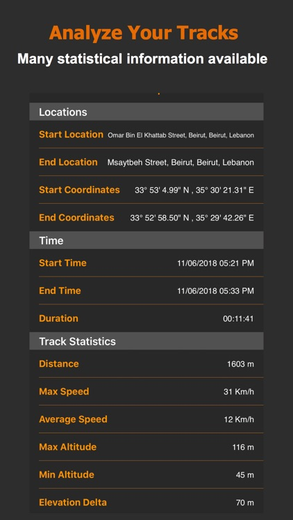 Track Me GPS screenshot-3