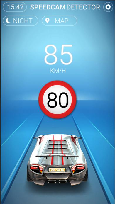 Screenshot of Speedcams Slovenia4