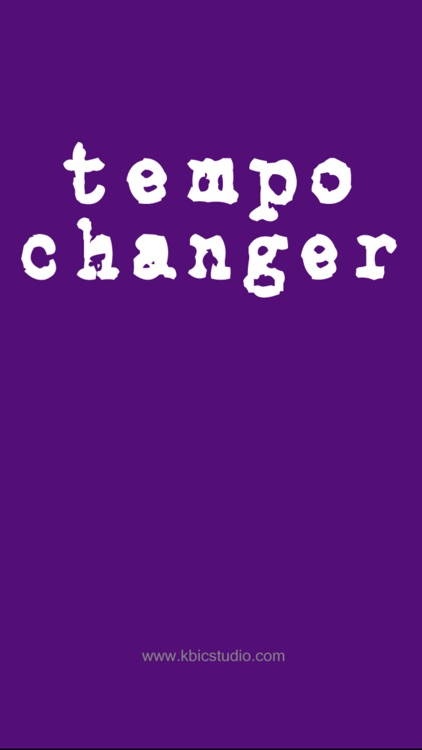 Tempo Changer