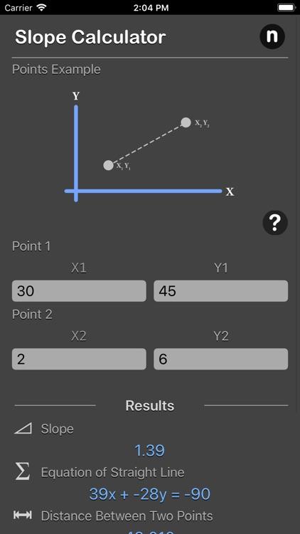 Slope Calculator Plus screenshot-5