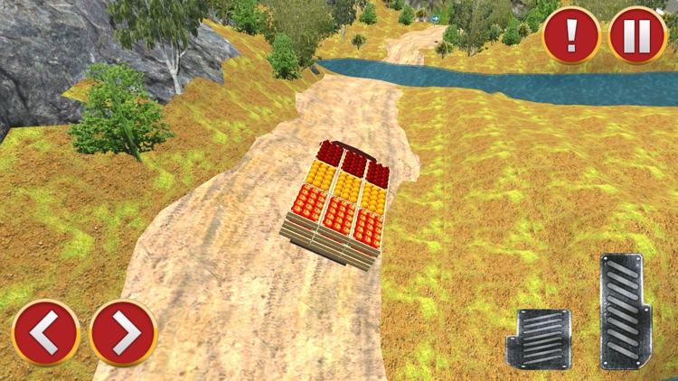 Offroad Fruit Delivery Truck screenshot-3