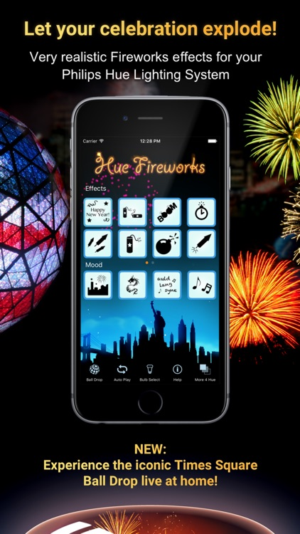 Hue Fireworks for Philips Hue