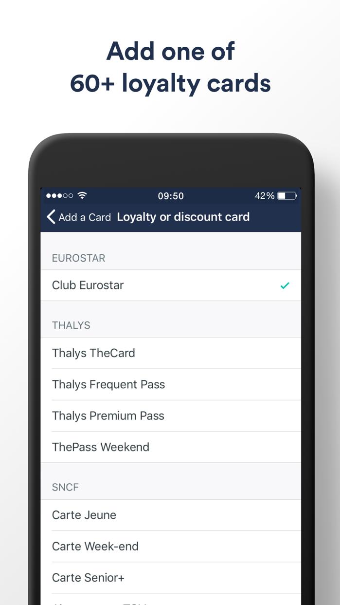 Trainline Europe:  Euro Travel Screenshot