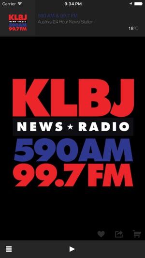 Newsradio KLBJ On The App Store