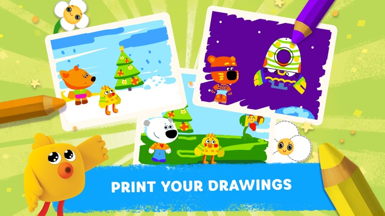 Be-be-bears: Painting for kids screenshot-4