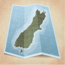 MapApp NZ South Island