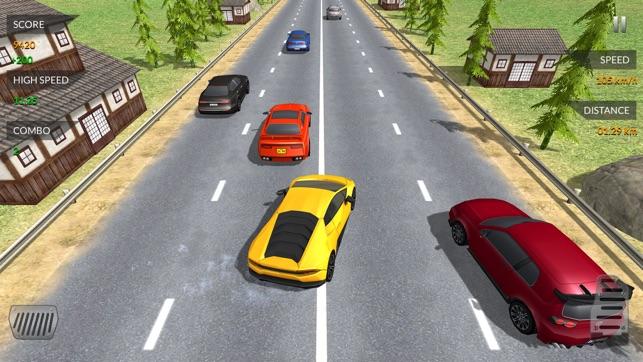 Verkehrsunfall Fahrer Highway im App Store