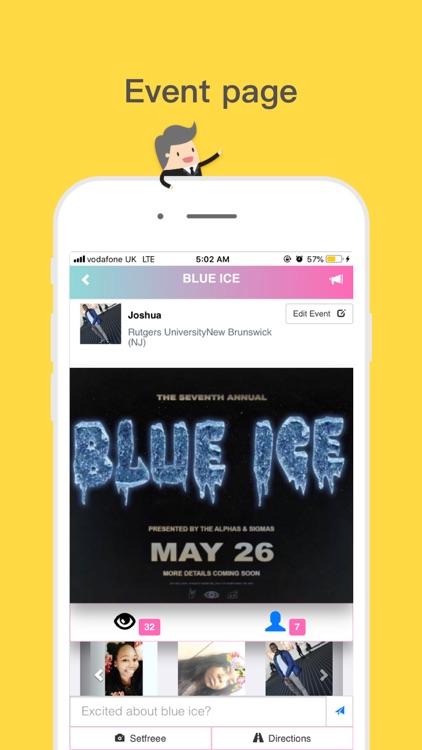 Setfreee: Social Media- Events screenshot-3