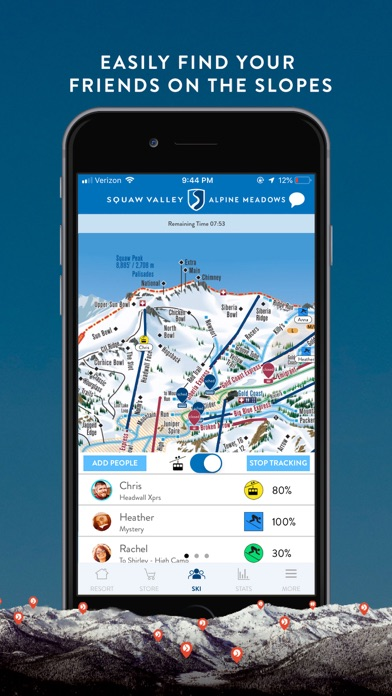 Screenshot for Squaw Valley | Alpine Meadows in United States App Store