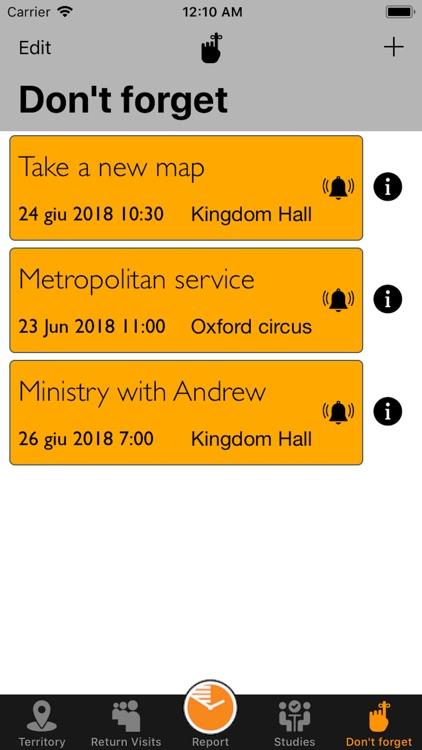 JW-Service Notes screenshot-9
