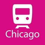 Chicago Rail Map Lite