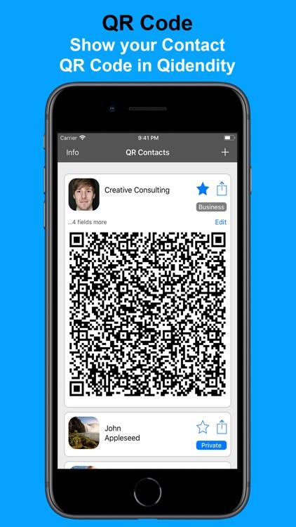 Qidentity - Share my Card screenshot-4