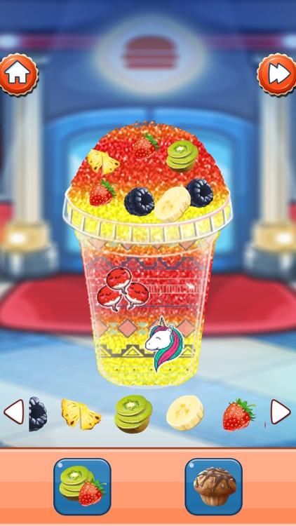 Ice Slushy Maker Rainbow screenshot-3