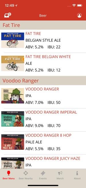 New Belgium Beer Mode On The App Store