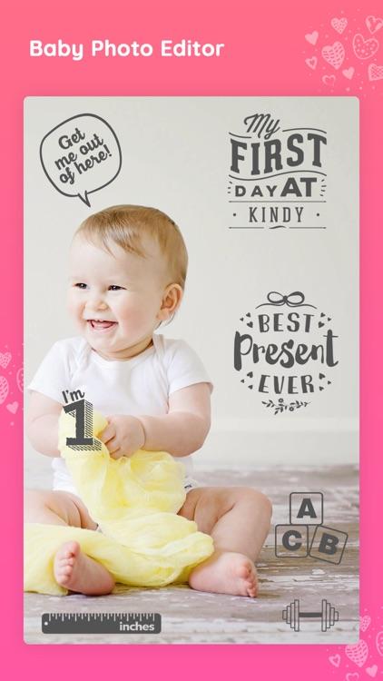 Baby photo editor & Art Maker screenshot-3