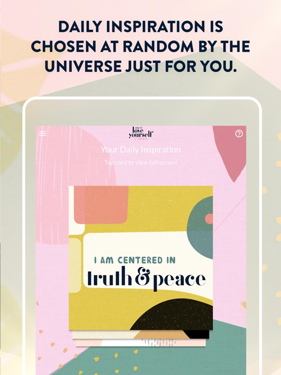 How to Love Yourself Cards screenshot 7
