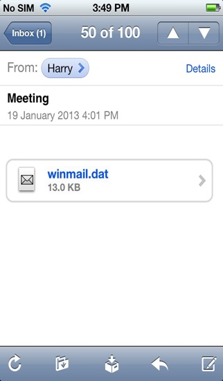Screenshot for Winmail File Viewer in Chile App Store