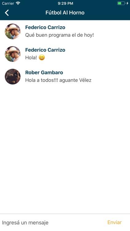 Fútbol Al Horno screenshot-3