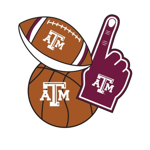 Texas A&M Aggies Selfie Stickers