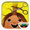 App Icon for Toca Hair Salon App in Denmark IOS App Store